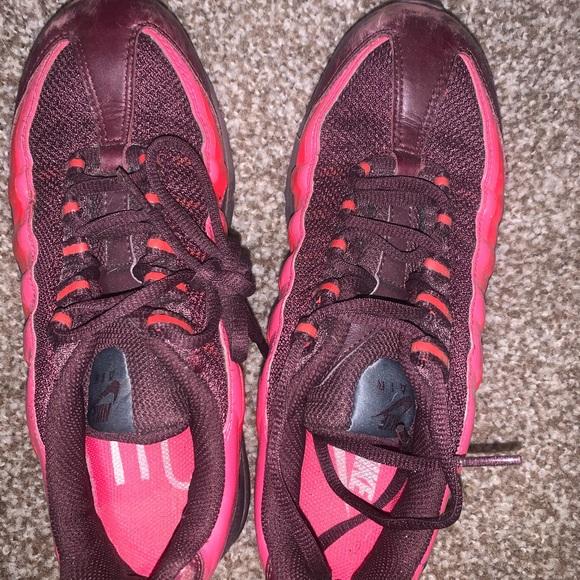 Nike Shoes   Burgundy Pink Air Max 95